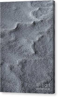 Great Sand Dunes National Park Canvas Print - Sand Swirls by Mike  Dawson