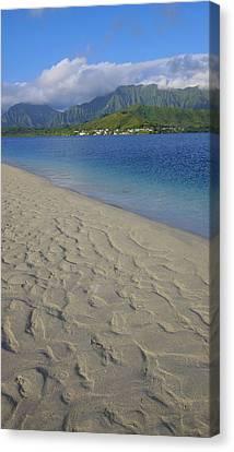 Sandbar, Kaneohe Bay, Oahu, Hawaii Canvas Print