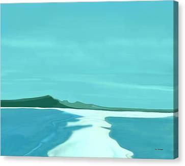 Sandbar Canvas Print by Tim Stringer