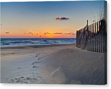 Sandbridge Dawn Canvas Print
