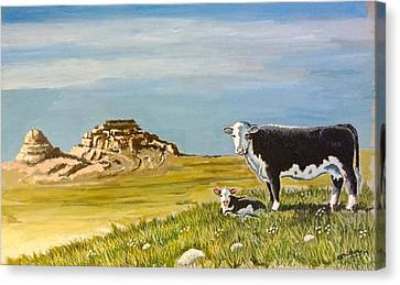 Sandhills Spring Canvas Print