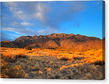 Sandia Crest Sunset Canvas Print