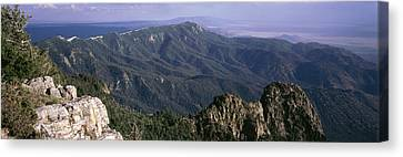 Sandia Mountains, Albuquerque, New Canvas Print