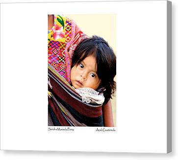 Canvas Print featuring the photograph Sandra Marisela Perez by Tina Manley