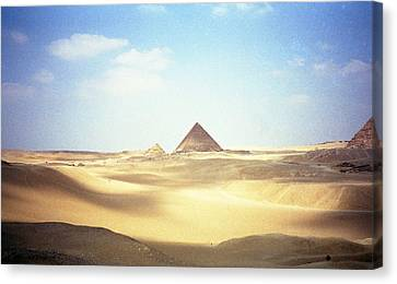 Sands Of Time Canvas Print by Robert  Moss