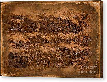 Sands Of Time Canvas Print by The Stone Age