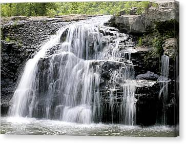 Canvas Print featuring the photograph Sandstone Falls by Robert Camp