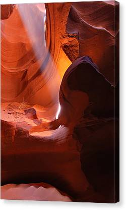 Sandstone Flare Canvas Print by Gregory Ballos