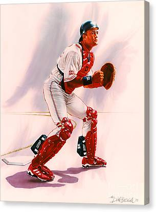 Sandy Alomar Canvas Print