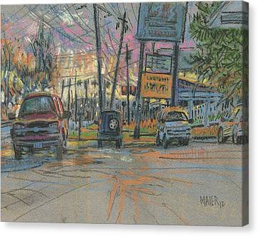 Sandy Plains Crossing Canvas Print
