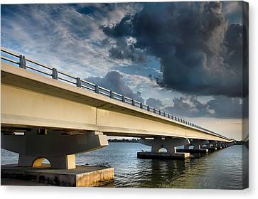 Sanibel Causeway I Canvas Print by Steven Ainsworth