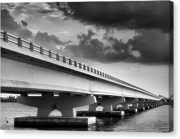 Sanibel Causeway II Canvas Print by Steven Ainsworth