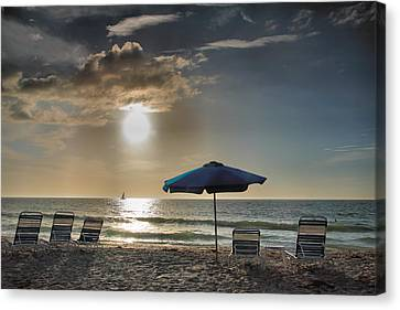 Sanibel Ease II Canvas Print by Steven Ainsworth