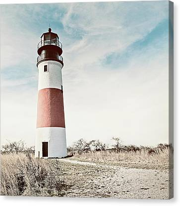 Sankaty Head Lighthouse Nantucket  Canvas Print