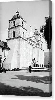 Canvas Print featuring the painting Santa Barbara, 1936 by Granger