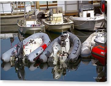 Santa Barbara Boat Rentals Canvas Print