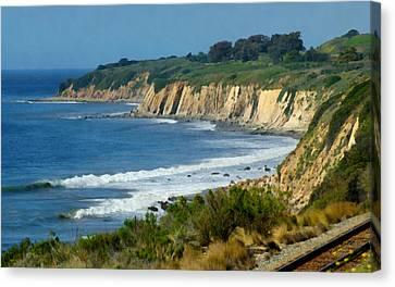 Santa Barbara Coast Canvas Print