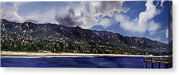 Santa Barbara Panorama Canvas Print
