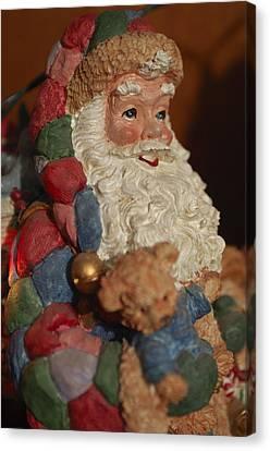 Saint Nick Canvas Print - Santa Claus - Antique Ornament - 03 by Jill Reger