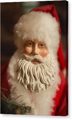 Saint Nick Canvas Print - Santa Claus - Antique Ornament - 07 by Jill Reger