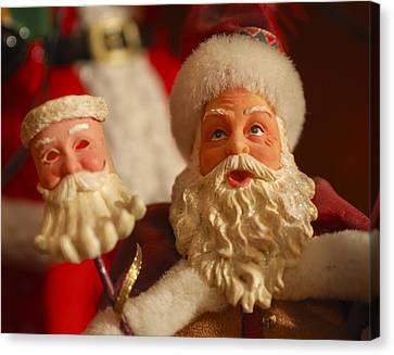 Saint Nick Canvas Print - Santa Claus - Antique Ornament - 12 by Jill Reger