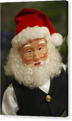 Santa Claus Canvas Print - Santa Claus - Antique Ornament - 30 by Jill Reger