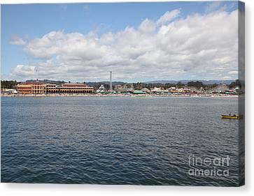 Santa Cruz Beach Boardwalk California 5d23805 Canvas Print by Wingsdomain Art and Photography