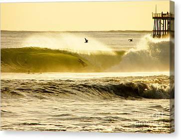 Santa Cruz Surfers Dream Canvas Print by Paul Topp