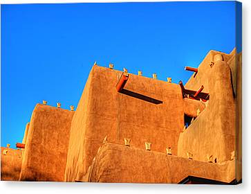 Santa Fe Adobe Canvas Print