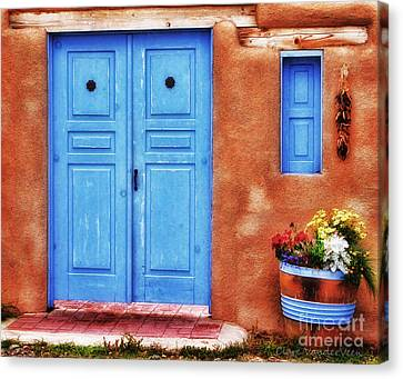Santa Fe Doorway Canvas Print
