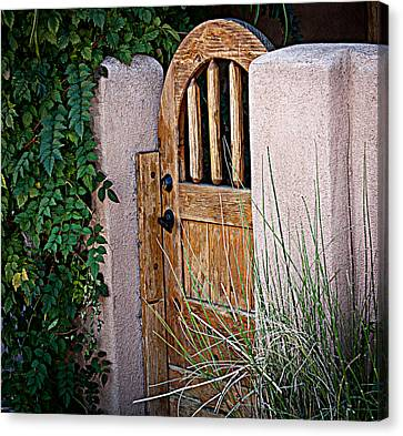 Canvas Print featuring the photograph Santa Fe Gate by Patrice Zinck