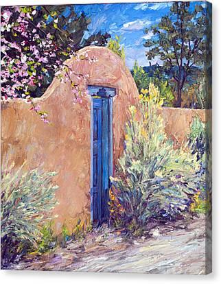 Santa Fe Splendor Canvas Print by Steven Boone