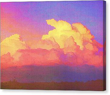Santa Fe Sunset Canvas Print by Douglas MooreZart