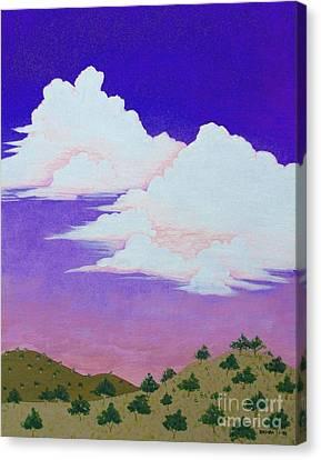 Santa Fe Sunset Canvas Print by Lori Ziemba