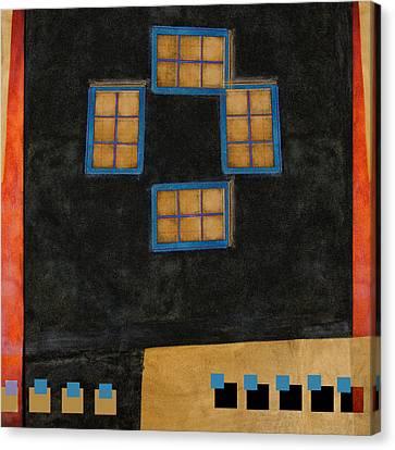 Santa Fe Windows Canvas Print