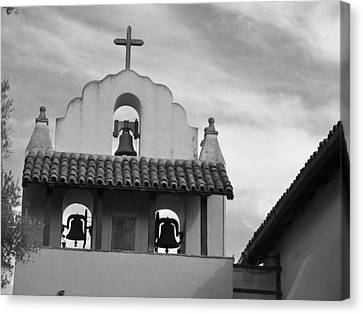 Santa Ines Mission Bell Tower Canvas Print