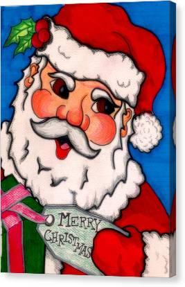 Santa  Canvas Print by Jame Hayes
