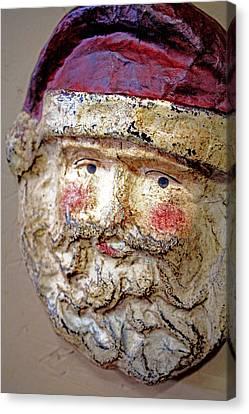 Canvas Print featuring the photograph Santa by Lynn Sprowl