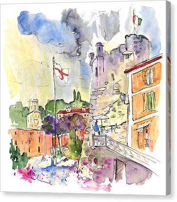 Santa Margherita In Italy 07 Canvas Print by Miki De Goodaboom