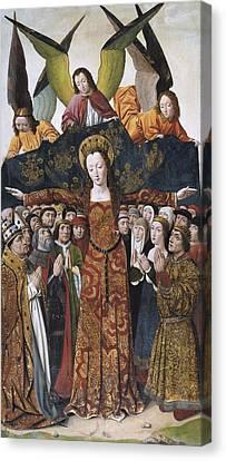 Santa Maria Del Campo, Master Of 14th Canvas Print by Everett