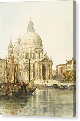Santa Maria Della Salute Canvas Print by Jacques Guiaud