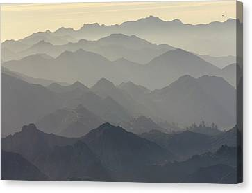 Santa Monica Mountains National Canvas Print
