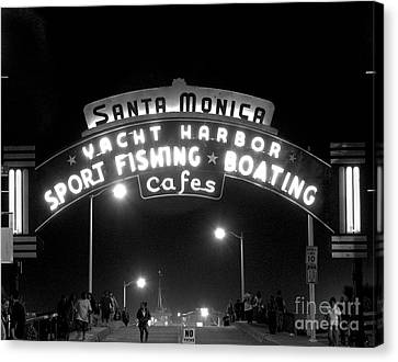 Santa Monica Pier 1 Canvas Print