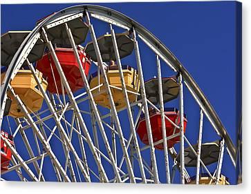 Santa Monica Pier Ferris Wheel Canvas Print