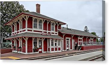 Santa Paula Station Canvas Print by Michael Gordon
