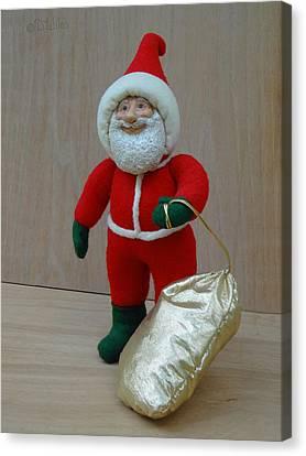 Santa Sr. - Christmas Spirit Canvas Print by David Wiles