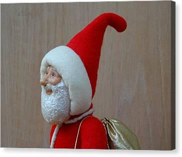 Santa Sr. - In The Spirit Canvas Print by David Wiles