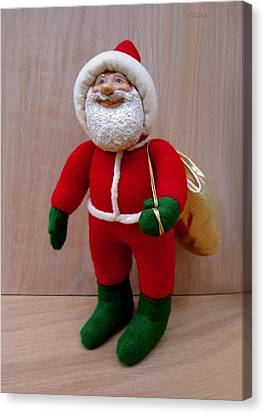 Santa Sr. - Merry Christmas Canvas Print by David Wiles