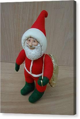 Santa Sr. - Ready To Go Canvas Print by David Wiles