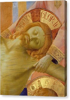Santa Trinita Altarpiece Canvas Print by Fra Angelico